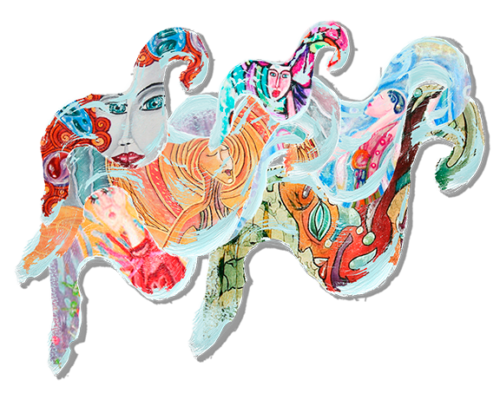 Header image for my blog post about my past artwork.