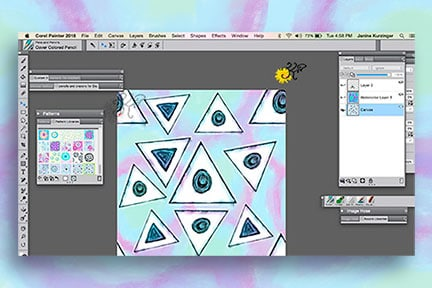 My love for Digital Paint and Patterns