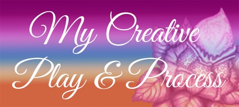 Blog category button My creative play and process. Click here
